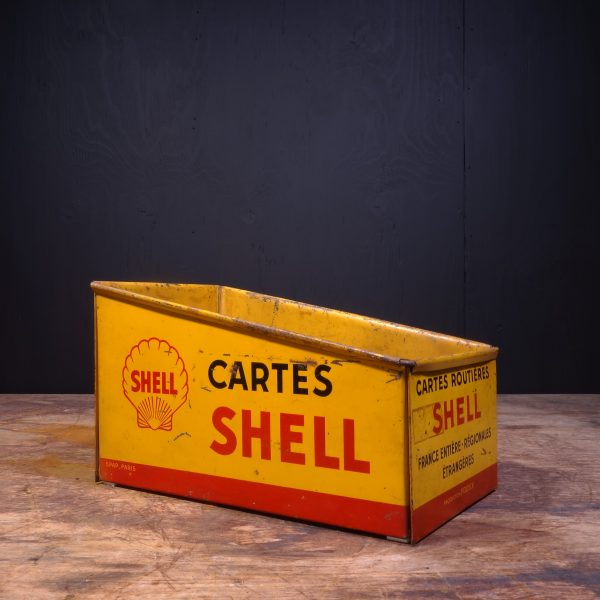 1950 Shell Cartes Road Map Box