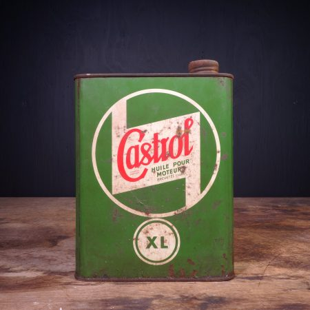 1940 Castrol XL Huile Pour Moteurs Motor Oil Can