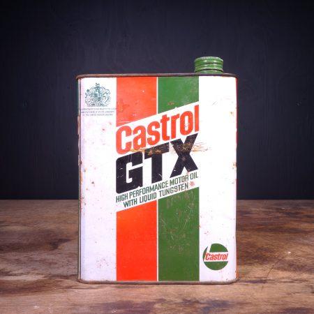 1970 Castrol GTX Motor Oil Can