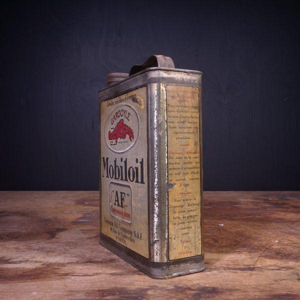 1930 Gargoyle Mobiloil AF Motor Oil Can