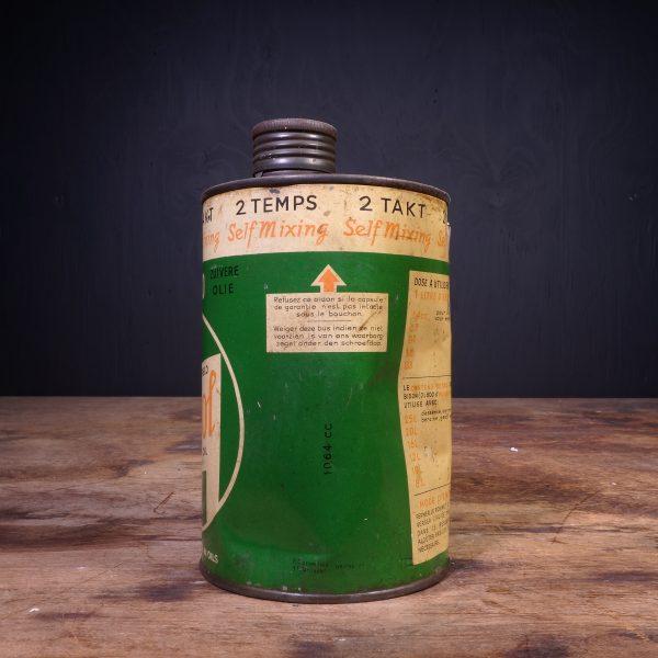 1940 Castrol Motor Oil 2 Temps 2 Takt Oil Can