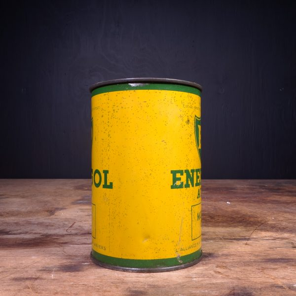 1940 BP Energol Auto Motor Oil Can