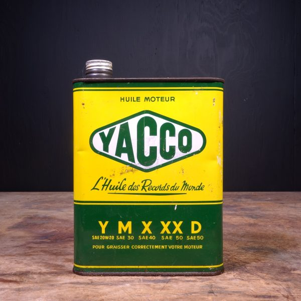 1950 Yacco Motor Oil Can