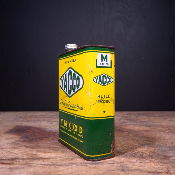 1950 Yacco Motor Oil Can