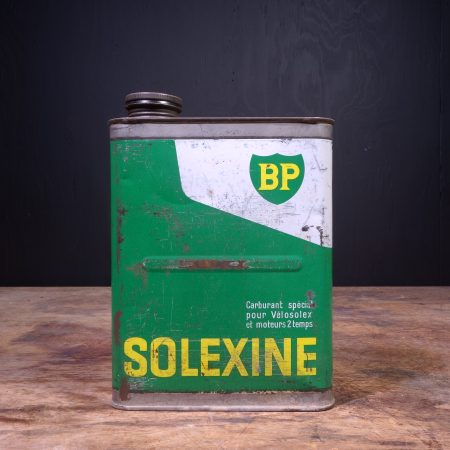 1960 BP Solexine Motor Oil Can