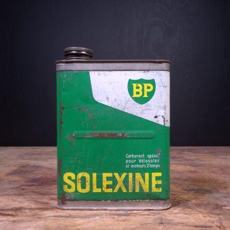 1960 BP Solexine Motor Oil Can