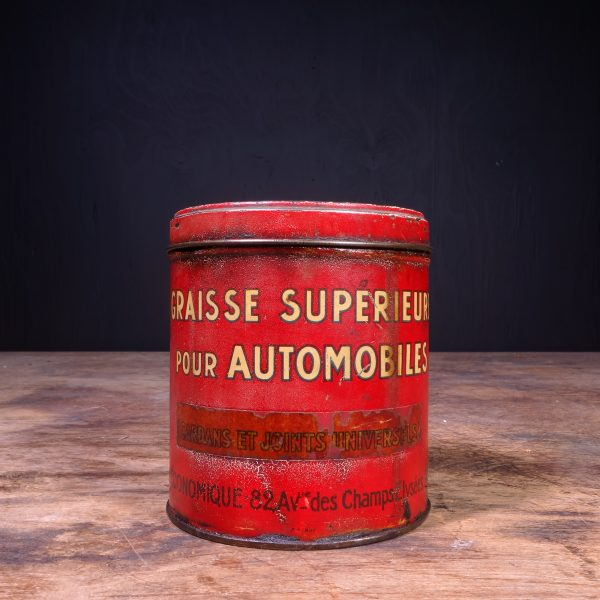 1930 Standard Motor Grease Can