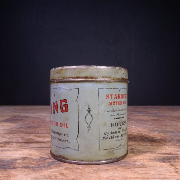 1920 Starding Motor Oil Grease Can