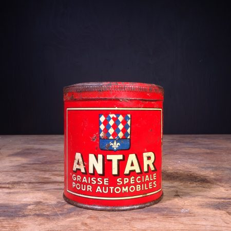 1930 Antar Graisse Pression Grease can