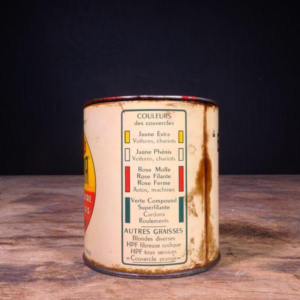 1920 Equateur Graisses Grease Can