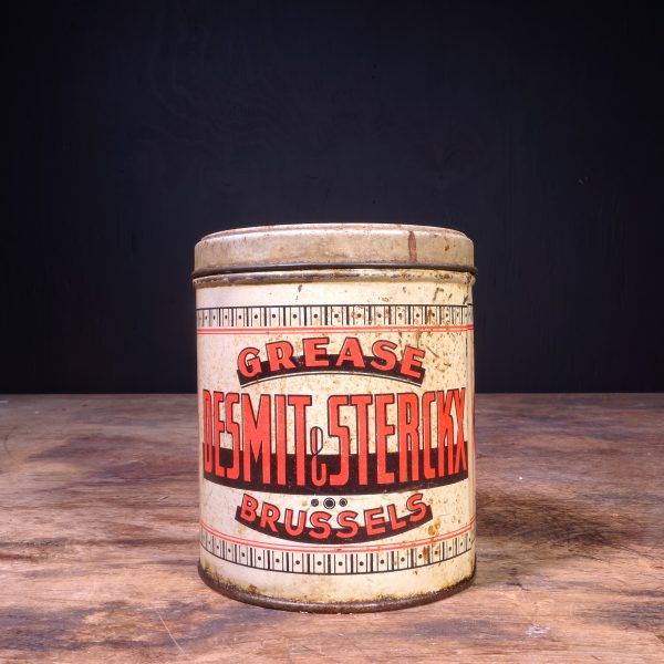1930 De Smit & Sterckx Grease Can