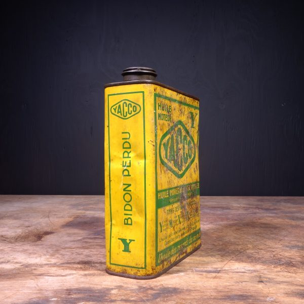1930 Yacco Motor Oil Can
