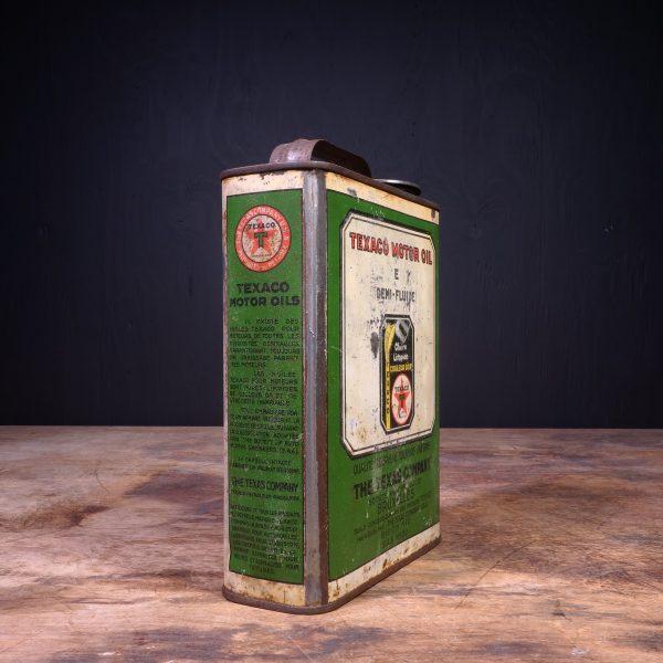 1930 Texaco E Motor Oil Can