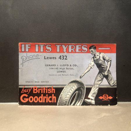 1950 Goodrich Blotter