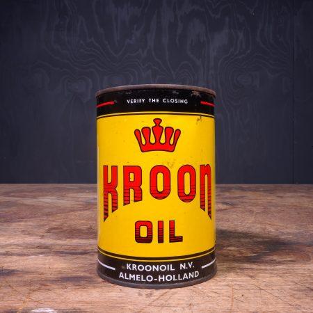 1950 Kroon Motor Oil Can