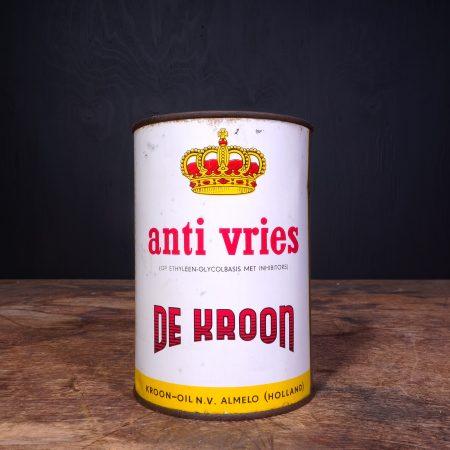 1950 Kroon Anti Vries Anti Freeze Can