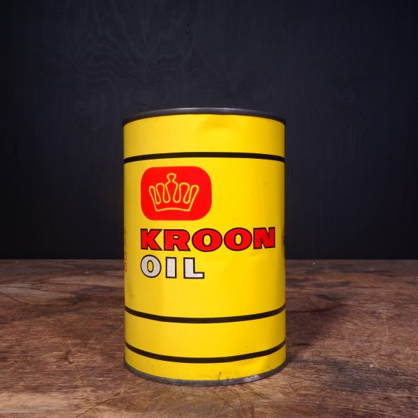 1960 Kroon Motor Oil Can