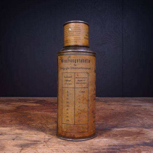 1920 Gargoyle Mobiloil Obenschmieroel Oil Can