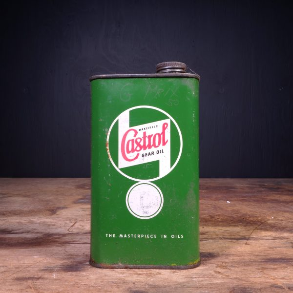 1940 Castrol Gear Oil Can