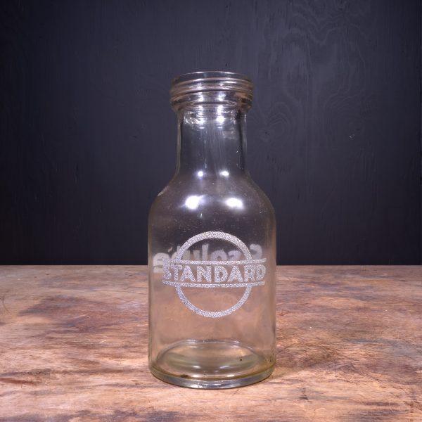 1930 Standard Essolube Motor Oil Bottle