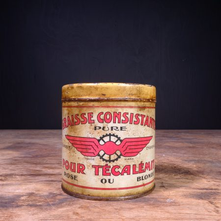 1920 Graisse Constistante Grease Can