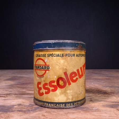 1930 Standard Essoleum Grease Can