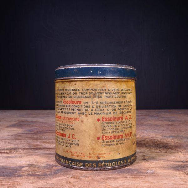1930 Standard Essoleum Grease Can