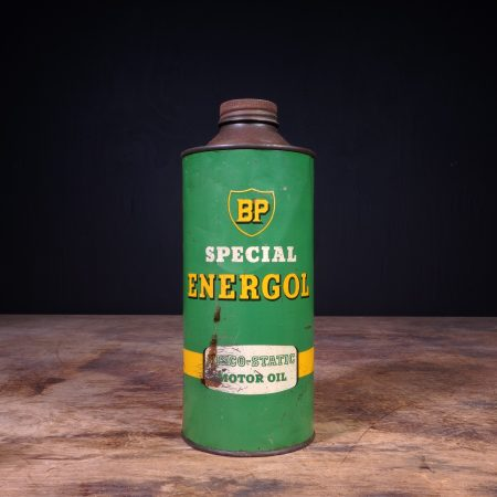 1950 BP Energol Viscol Static Motor Oil Can