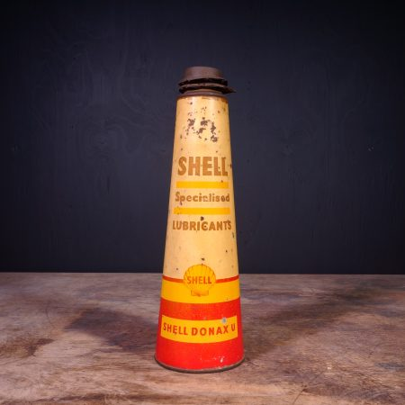 1940 Shell Specialised Lubricants Motor Oil Can