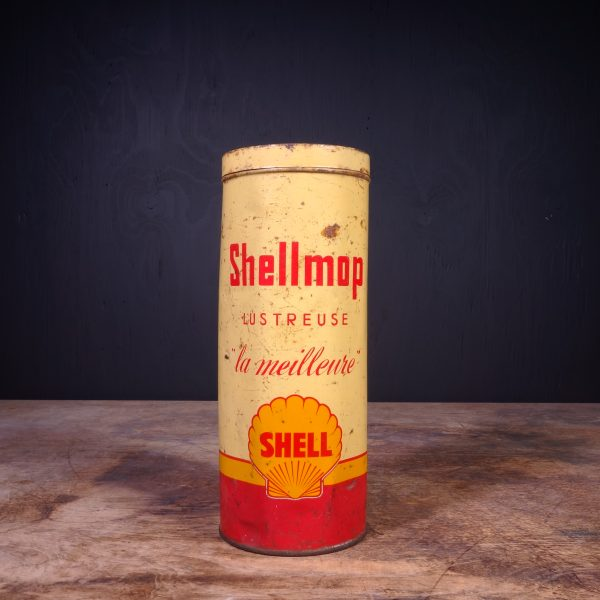 1950 Shell Shellmop Can