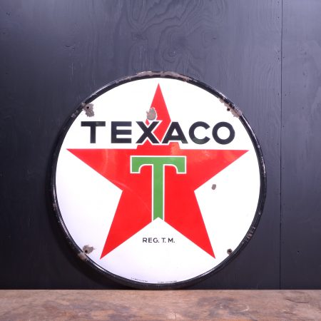 1939 Texaco Enamel Sign