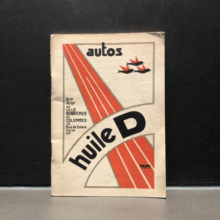 1930 Huile D Notebook