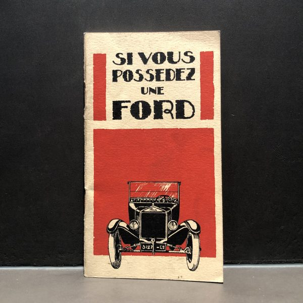 1930 Ford Mobiloil Grease Manual