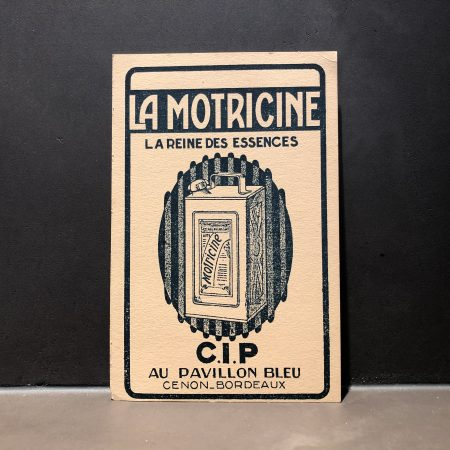 1930 CIP Motricine Promotional Card