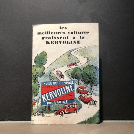 1930 Kervoline Promotional Paper