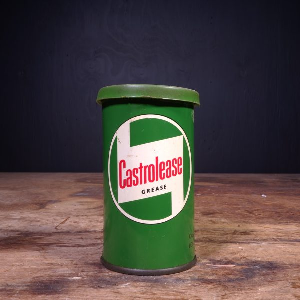 1950 Castrol Castrolease Heavy Grease Can