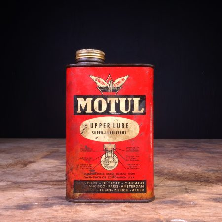 1940 Motul Upper Lube Oil Can