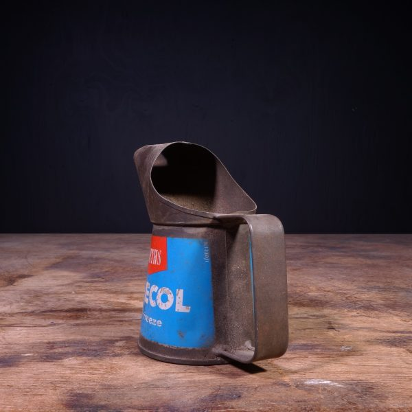 1960 Smiths Bluecol Anti Freeze Jug