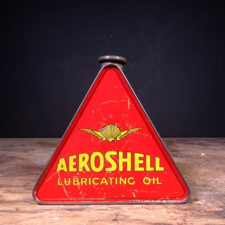 1930 Aeroshell Lubricating Motor Oil Can