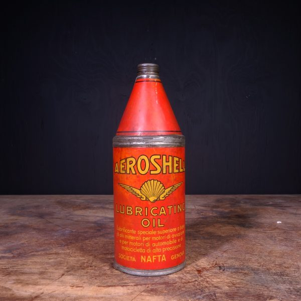 1930 Aeroshell Lubricating Oil Can