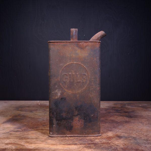 1920 Gulf Petrol Can