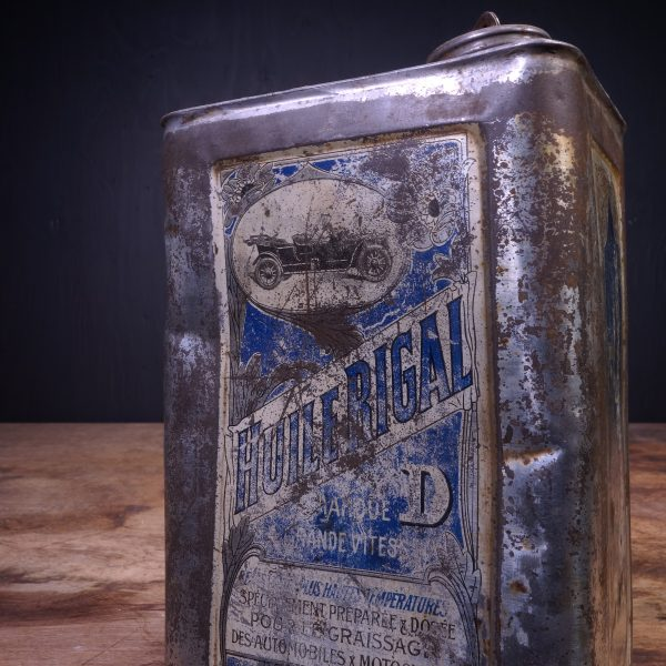 1900 Huile Rigal D Oil Can