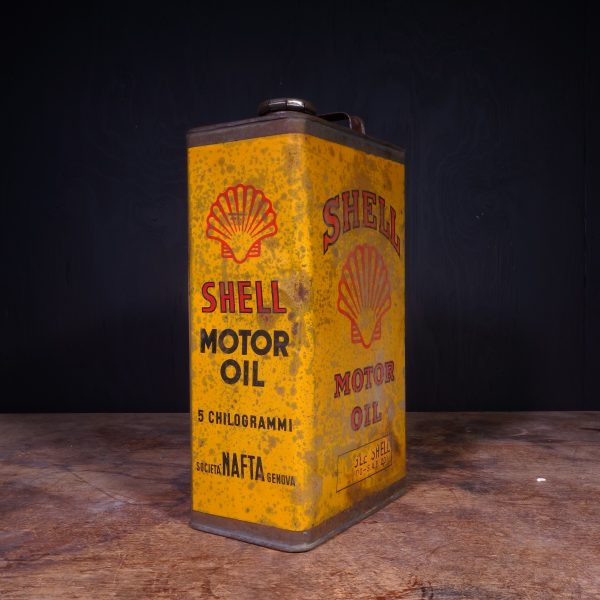 1930 Shell Motor Oil Can