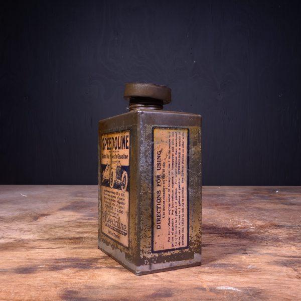1920 Speedoline Motor Oil Can