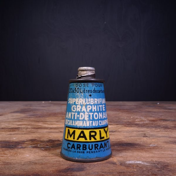 1950 Marly Carburant Motor Oil Can