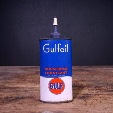 1950 Gulf Gulfoil Household Oil Can