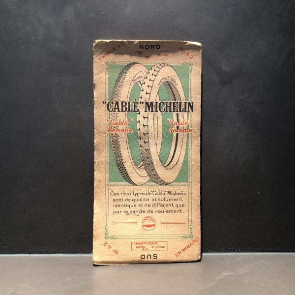 1920 Michelin road map #42