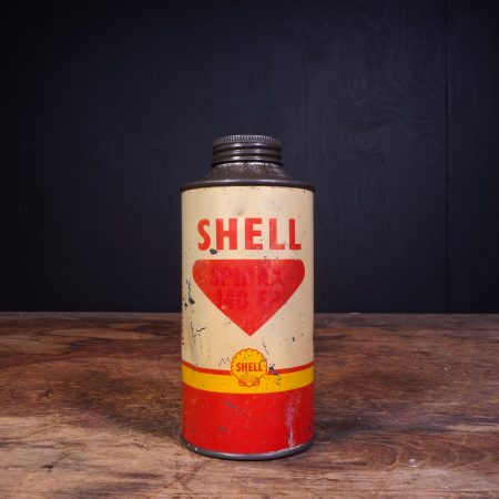 1950 Shell Spirax Motor Oil Can