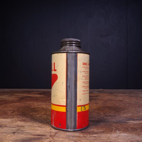 1950 Shell Spirax Motor Oil Can