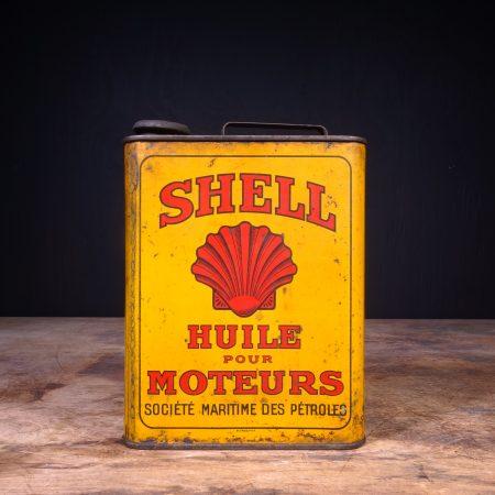 1930 Castrol Huile Pour Moteurs Oil Jug